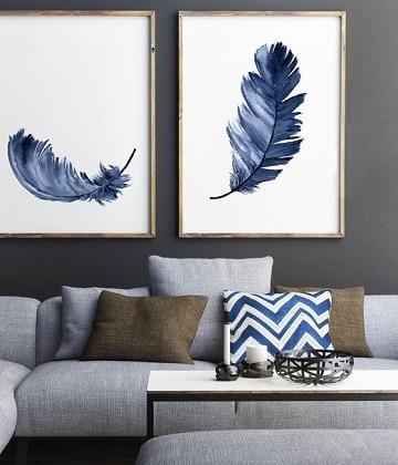 Artisticos y originales cuadros para sala minimalista for Cuadros clasicos para sala