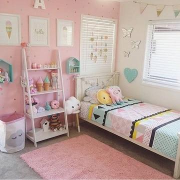 Decoracion original para cuartos de niña de 10 años