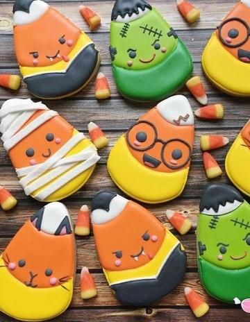 dulces decorados para halloween clasicos