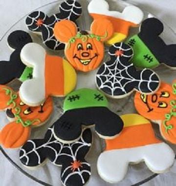 dulces decorados para halloween galletas