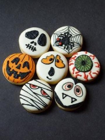 dulces decorados para halloween ideas