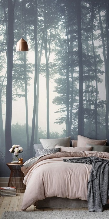 foto murales para habitaciones relajantes