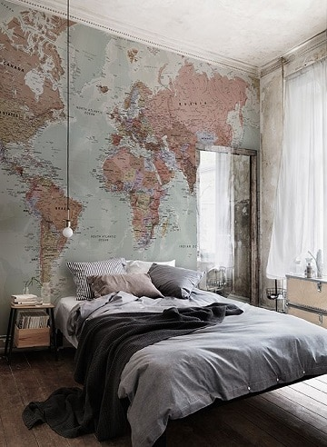 foto murales para habitaciones solteros hombres
