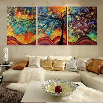 imagenes de cuadros tripticos coloridos