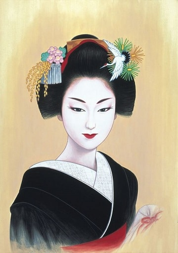 imagenes de pinturas de mujeres orientales