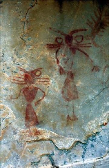 imagenes de pinturas rupestres antigua