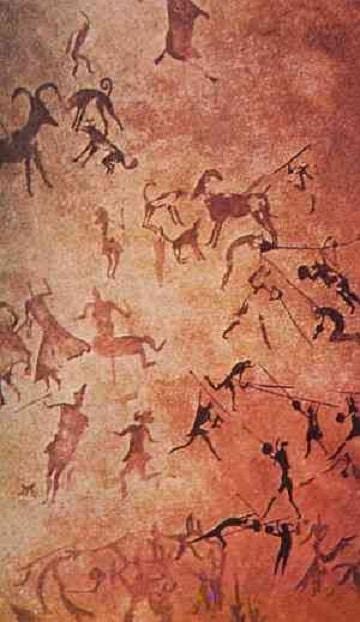 imagenes de pinturas rupestres diseños
