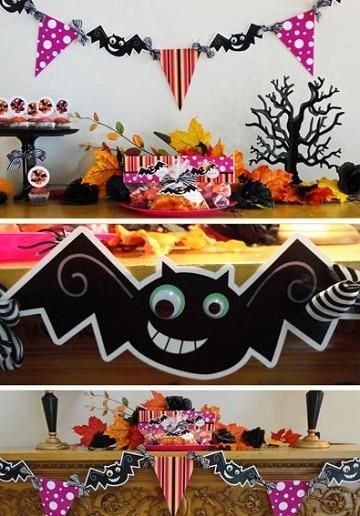 mesas decoradas para halloween divertidas
