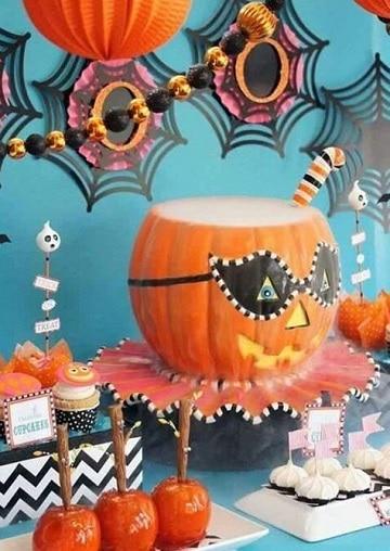 mesas decoradas para halloween ideas