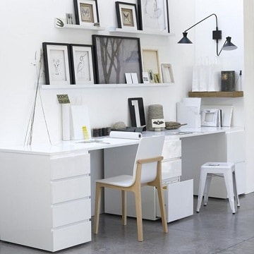 muebles para oficinas pequeñas ideas