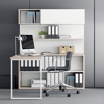 muebles para oficinas pequeñas organizadas