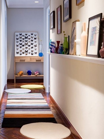 muebles para pasillos estrechos ideas