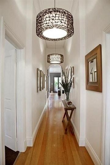 muebles para pasillos estrechos sencillos