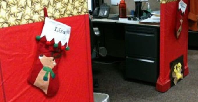 Decoracion de navidad para oficina stunning decoracin - Decoracion de navidad para oficina ...