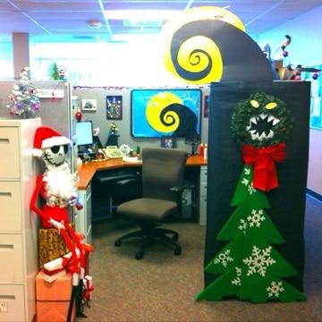 oficinas decoradas de navidad jack