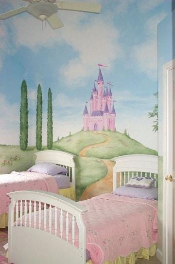 paredes decoradas para niños mujeres