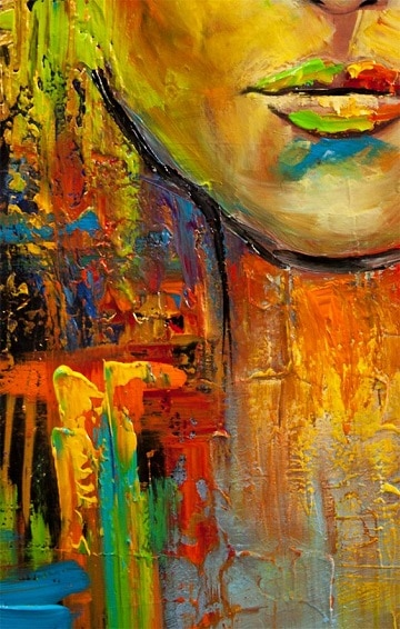 Diversas imagenes en pinturas abstractas al oleo como for Fotos de cuadros abstractos al oleo
