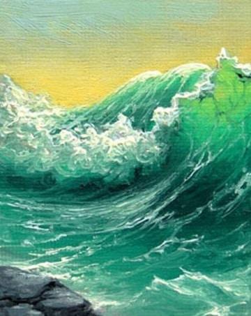 pinturas al oleo marinas paisajes