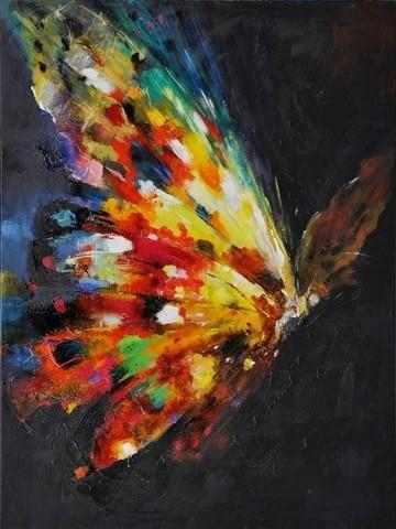 pinturas de animales al oleo abstracto