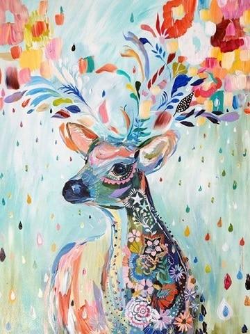 pinturas de animales al oleo moderno