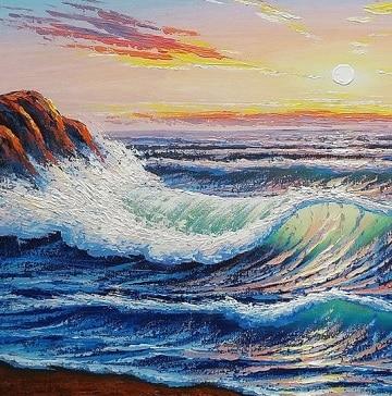 pinturas de marinas al oleo ideas