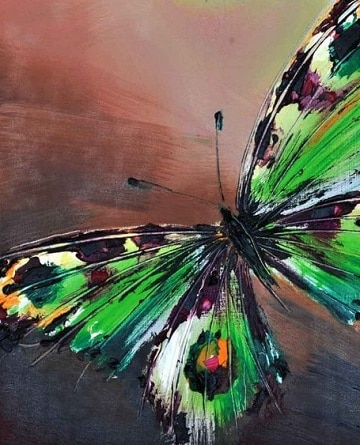 pinturas de mariposas al oleo diseños
