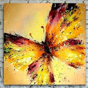 pinturas de mariposas al oleo para decoracion