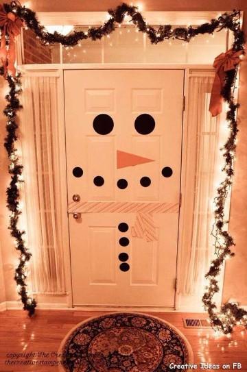 adornos para puertas de entrada con dibujos