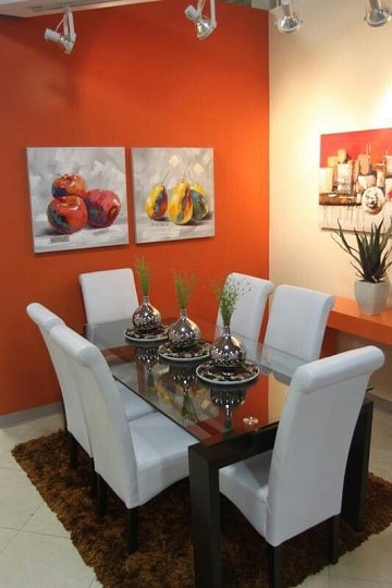 Ideas para decorar de forma original casas color naranja - Como conseguir color naranja ...