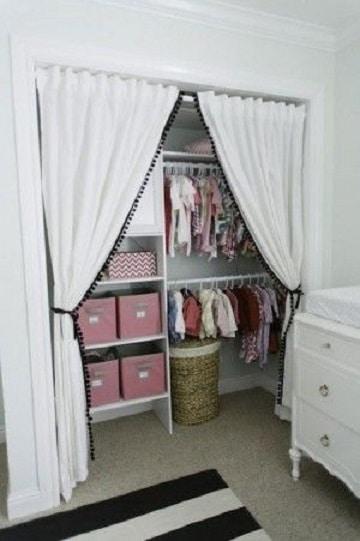 closet para cuartos pequeños para bebe