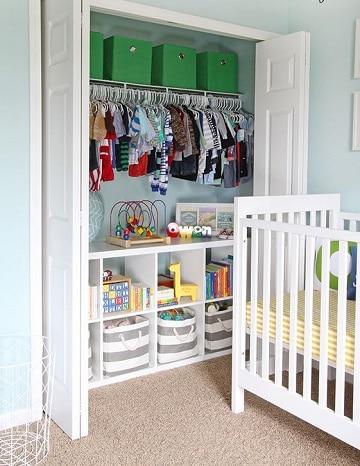 Dise os y modelos de closet para ni os modernos como for Modelos de zapateras en closet