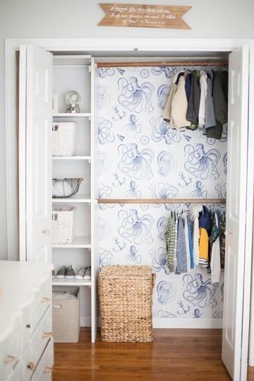 Dise os y modelos de closet para ni os modernos como for Modelos de closet de madera de cuarto