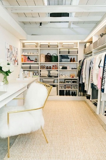 closets modernos para mujeres elegantes