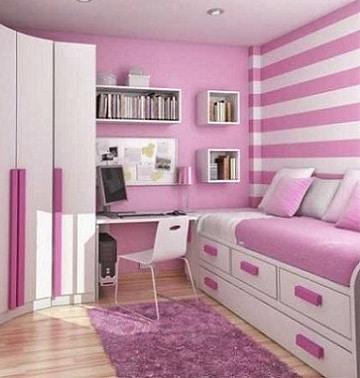 Ideas para decorar con colores claros para cuartos como for Cuartos para ninas 2017