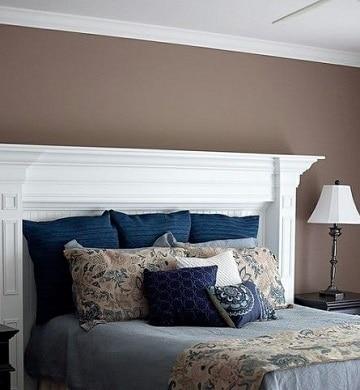 colores marrones para paredes de dormitorio