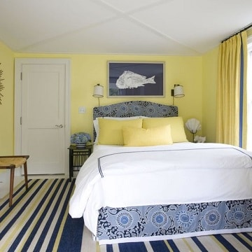 colores para dormitorios de pareja amarillo
