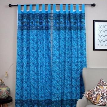 Hermosos ambientes con el uso de cortinas azul turquesa - Cortinas azul marino ...