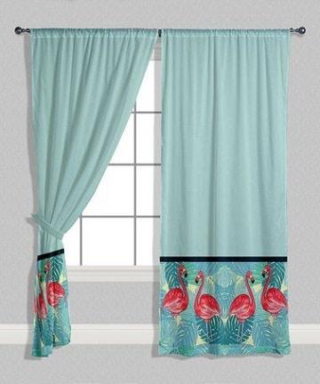cortinas azules para dormitoios de niños