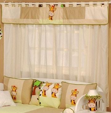 Ideas para decorar con cortinas para cuarto de bebe