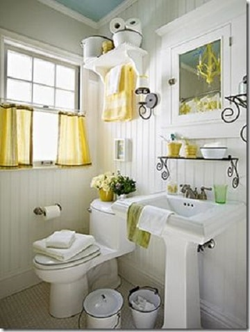 cortinas para ventanas de baño corredizas