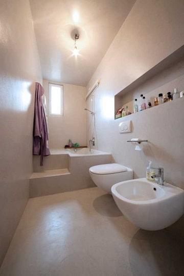cuartos de baño blancos diseños
