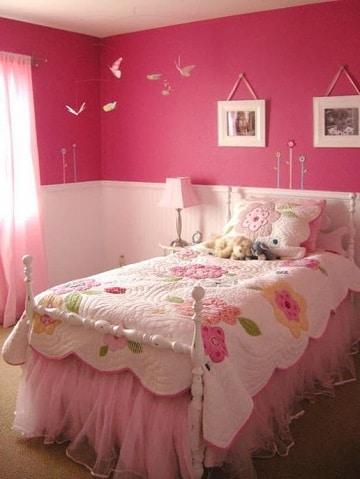 cuartos de color rosa para niñas grandes