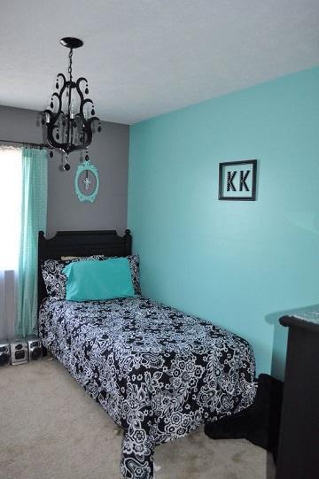 Ambientes y decorados en cuartos pintados de gris como for Cuartos pintados de azul