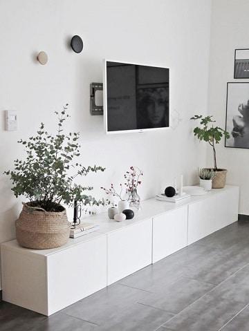 habitaciones con muebles blancos decoracion
