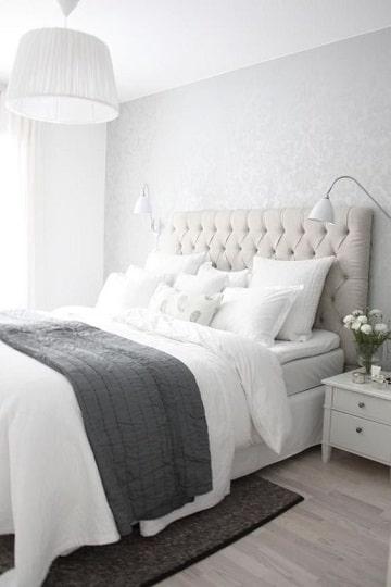 habitaciones con muebles blancos dormitorio