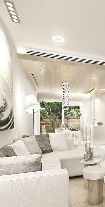 muebles blancos luminosas y elegantes habitaciones con muebles blancos como decorar mi cuarto