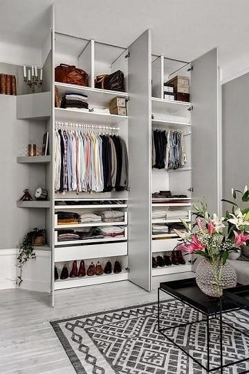 imagenes de closets modernos para mujeres