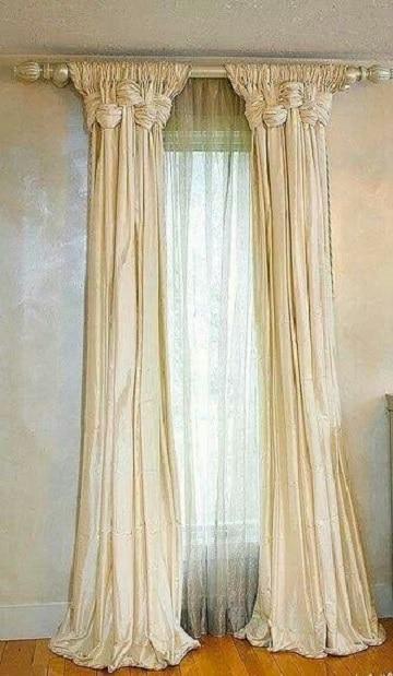 imagenes de cortinas para sala blanco