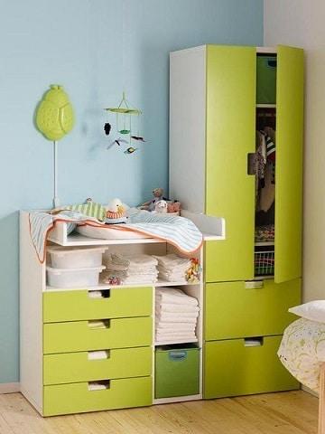 modelos de closets de madera para bebe