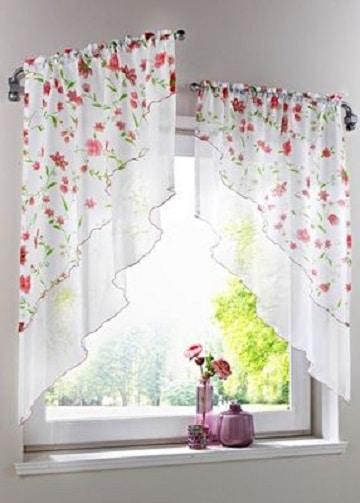 modelos de cortinas de cocina ideas